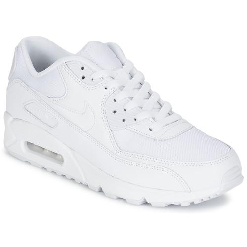Topánky Muži Nízke tenisky Nike AIR MAX 90 ESSENTIAL Biela