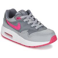 Topánky Dievčatá Nízke tenisky Nike AIR MAX 1 CADET šedá / Ružová