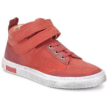 Topánky Dievčatá Členkové tenisky Pom d'Api BACK BASKET červená