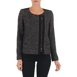 Oblečenie Ženy Saká a blejzre Lola VIE LUREX Čierna / Béžová