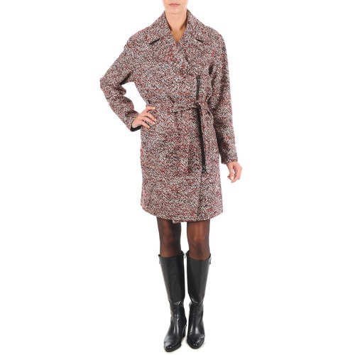 Oblečenie Ženy Kabáty Lola MORANDI IPERYON Bordová