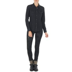 Oblečenie Ženy Džínsy Slim Lee SCARLETT Čierna