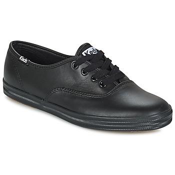 Topánky Ženy Nízke tenisky Keds CHAMPION LEATHER čierna