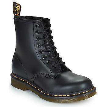 Topánky Polokozačky Dr Martens 1460 8 EYE BOOT Čierna