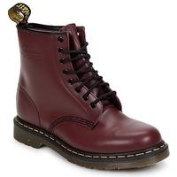 Topánky Ženy Polokozačky Dr Martens 1460 8 EYE BOOT Cherry