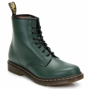 Topánky Ženy Čižmičky Dr Martens 1460 8 EYE BOOT Zelená