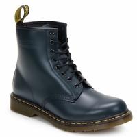 Topánky Čižmičky Dr Martens 1460 8 EYE BOOT Modrá