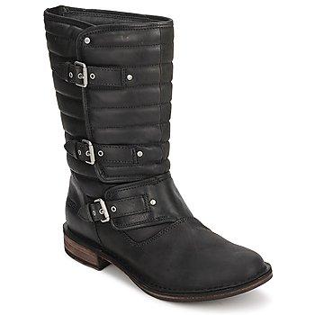 Topánky Ženy Polokozačky UGG TATUM Čierna