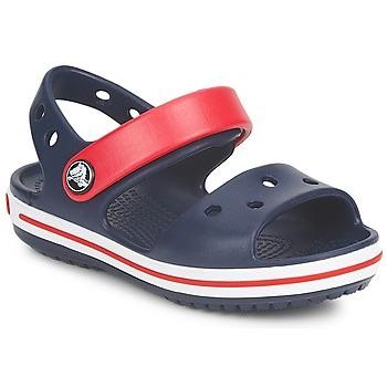 Topánky Deti Sandále Crocs CROCBAND SANDAL Námornícka modrá / Červená