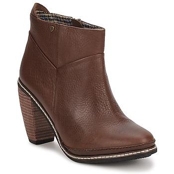 Topánky Ženy Čižmičky Feud LIGHT Hnedá