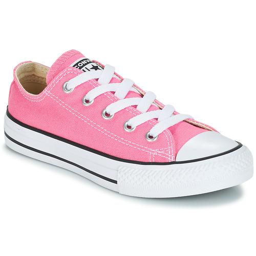 8ba4a47c743 Topánky Dievčatá Nízke tenisky Converse CHUCK TAYLOR ALL STAR CORE OX Ružová