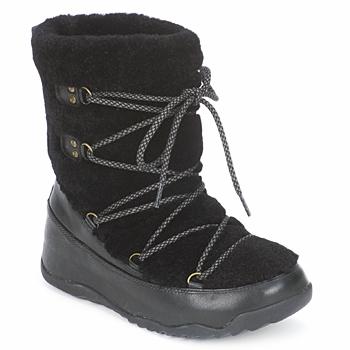 Topánky Ženy Snehule  FitFlop SUPERBLIZZ Čierna