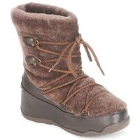 Topánky Ženy Snehule  FitFlop SUPERBLIZZ Čokoládová