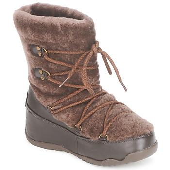 Topánky Ženy Obuv do snehu FitFlop SUPERBLIZZ Čokoládová
