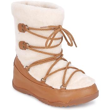Topánky Ženy Obuv do snehu FitFlop SUPERBLZZ Béžová / Hnedá