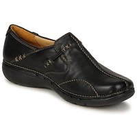 Topánky Ženy Balerínky a babies Clarks UN LOOP Čierna