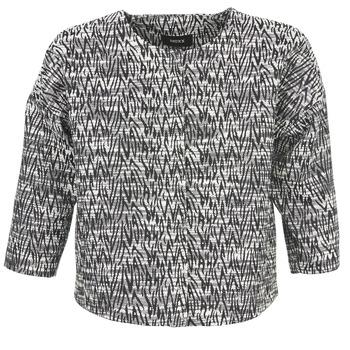 Oblečenie Ženy Saká a blejzre Mexx MX3002331 Čierna / Biela