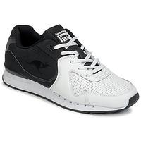 Topánky Muži Nízke tenisky Kangaroos COIL-R2 TONE Biela / Čierna