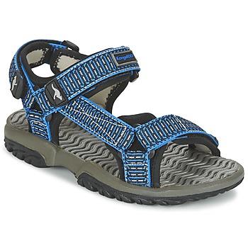 Topánky Chlapci Sandále Kangaroos KS 22 Modrá