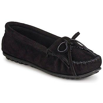 Topánky Ženy Mokasíny Minnetonka KILTY SUEDE MOC čierna