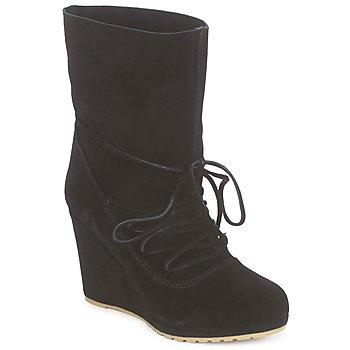 Topánky Ženy Čižmičky Chinese Laundry PENNY CROSSING Suede / Čierna
