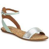 Topánky Ženy Sandále Lucky Brand COVELA Zelená mentolová / Strieborná