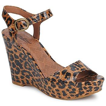Topánky Ženy Sandále Lucky Brand LINDEY Luxe / Leopard