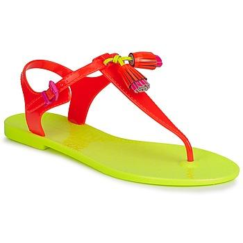 Topánky Ženy Sandále Juicy Couture WISP Neon / Oranžová