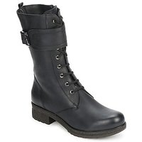 Topánky Ženy Čižmy do mesta Unisa BLACK Čierna