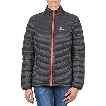 Oblečenie Ženy Vyteplené bundy Salomon Jacket HALO DOWN JACKET W BLACK Čierna