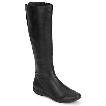 Topánky Ženy Čižmy do mesta Moony Mood GURLEN Čierna