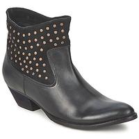 Topánky Ženy Polokozačky Friis & Company DUBAI FLIC čierna