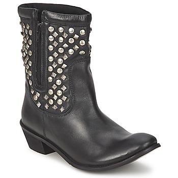 Topánky Ženy Polokozačky Friis & Company DUBLIN JANI čierna