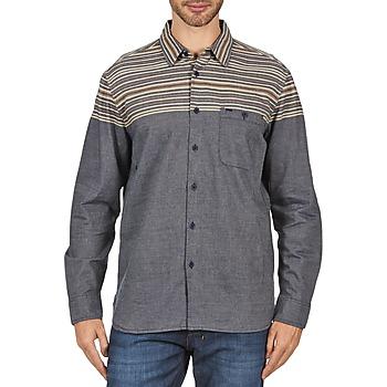 Oblečenie Muži Košele s dlhým rukávom Element LENOX šedá