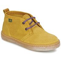 Topánky Chlapci Polokozačky El Naturalista KEPINA Žltá