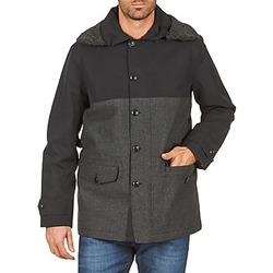 Oblečenie Muži Kabáty Aigle SHERPAFIELD Čierna / Šedá