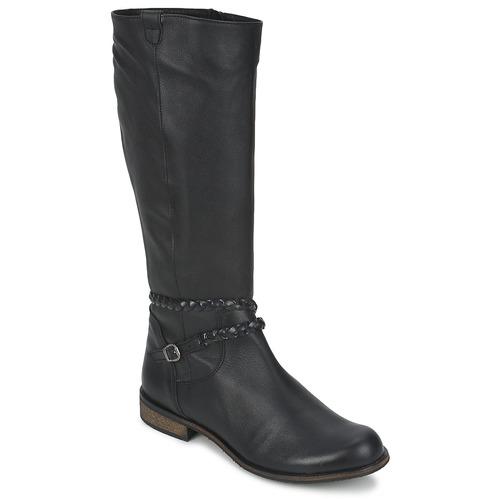 Topánky Ženy Čižmy do mesta So Size BERTOU Čierna