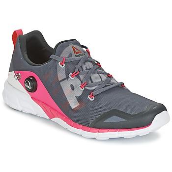 Topánky Ženy Bežecká a trailová obuv Reebok Sport REEBOK ZPUMP FUSION šedá / Ružová
