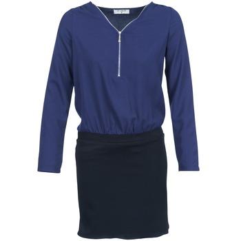 Oblečenie Ženy Krátke šaty Betty London DEYLA čierna / Námornícka modrá