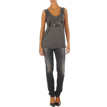 Oblečenie Ženy Džínsy Slim Diesel GETLEGG L.32 TROUSERS šedá