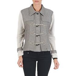 Oblečenie Ženy Bundy  Diesel G-JAYA-A SWEAT-SHIRT Šedá