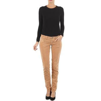 Oblečenie Ženy Džínsy Slim Diesel GRUPEE-F TROUSERS Béžová