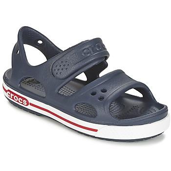 Topánky Chlapci Sandále Crocs CROCBAND II SANDAL PS Námornícka modrá / Biela