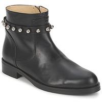 Topánky Ženy Polokozačky Moschino Cheap & CHIC CA21102MOYCE0000 Čierna