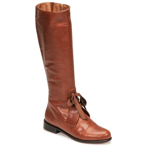Topánky Ženy Čižmy do mesta Fericelli MAURA Ťavia hnedá