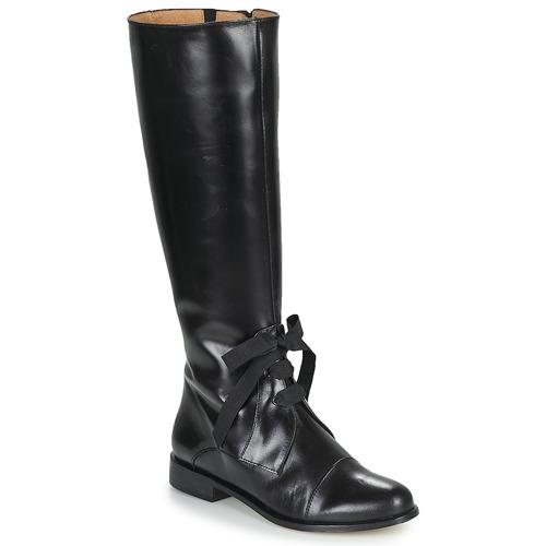 Topánky Ženy Čižmy do mesta Fericelli MAURA Čierna