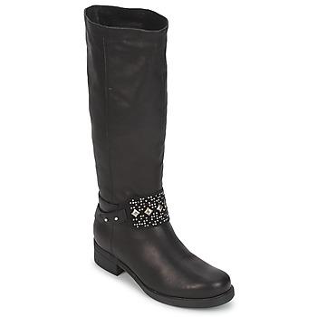 Topánky Ženy Čižmy do mesta Janet&Janet VAN BRADNER čierna