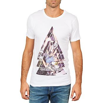 Oblečenie Muži Tričká s krátkym rukávom Eleven Paris BERLIN M MEN Biela