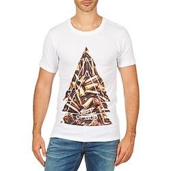 Oblečenie Muži Tričká s krátkym rukávom Eleven Paris CITYGOD M MEN Biela