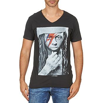 Oblečenie Muži Tričká s krátkym rukávom Eleven Paris KAWAY M MEN Čierna
